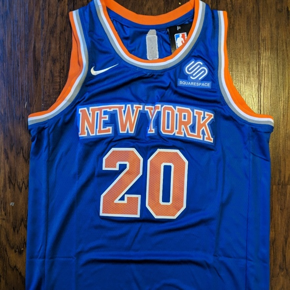 quality design 753a3 83b68 New york Knicks Kevin Knox Jersey NWT
